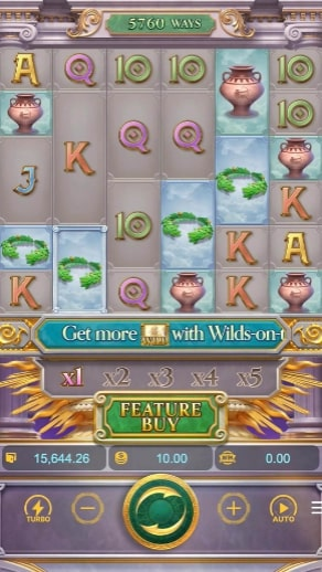 Rise of Apollo buy free spin